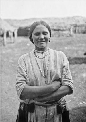 Мокша (Самарской губернии) на старых фотографиях 1914 года