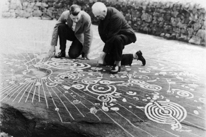 Тайна символов шотландского Камня Кочно (Cochno stone)